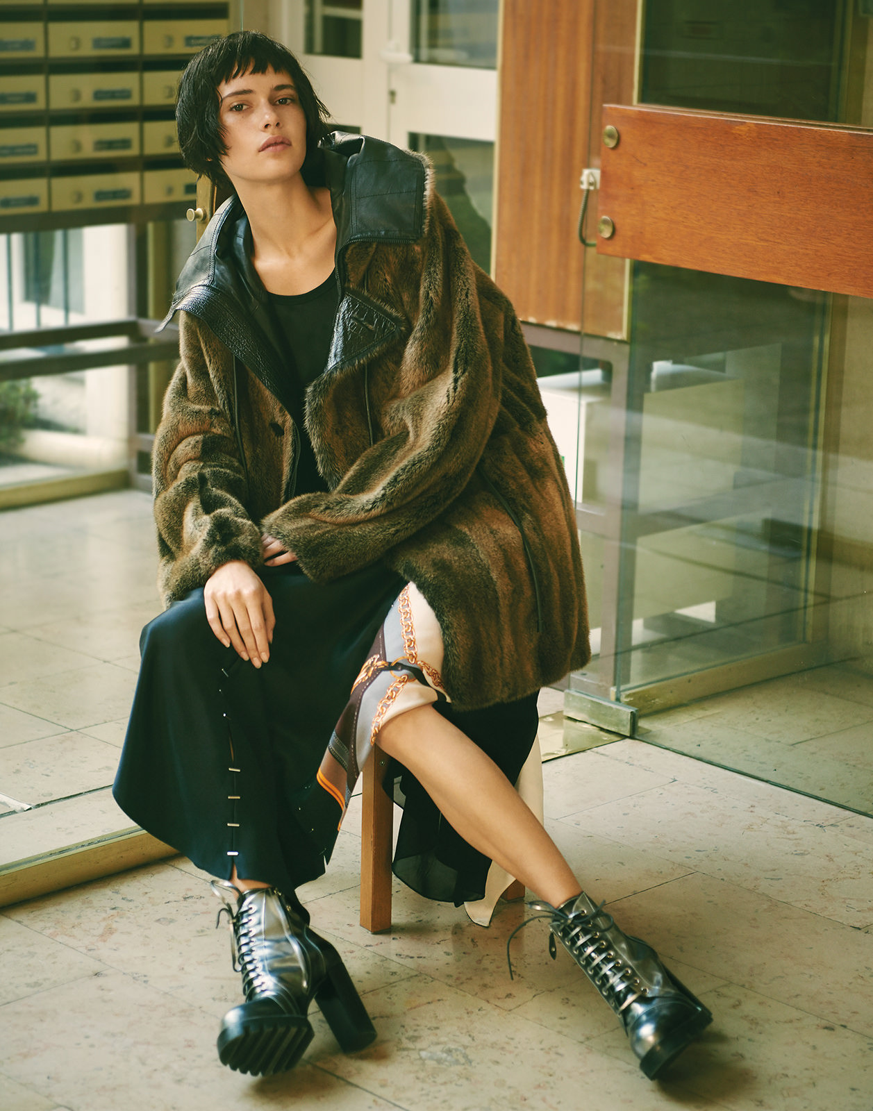 Julie Pailhas VOGUE TAIWAN Iana Godnia by Naomi Yang