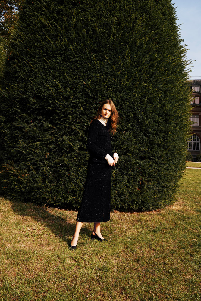 Julie Pailhas LES ECHOS WEEK-END Josephine Klein by Emanuele Fontanesi